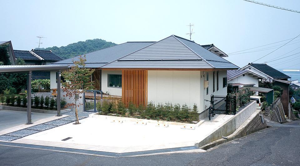 鳥取市 O様邸の部屋 不整形の宅地に建つ住宅