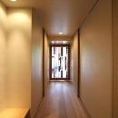 京都市Y様邸の写真 高級感のあるステンドグラスのドア
