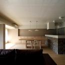 京都市Y様邸の写真 インパクトのあるキッチン