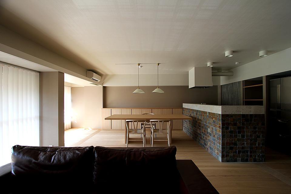京都市Y様邸の部屋 インパクトのあるキッチン