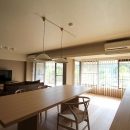 京都市Y様邸の写真 部屋の壁を取り払ったリビングダイニング