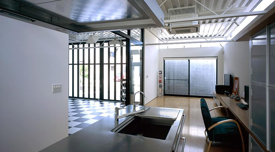 貝塚市 T様邸の部屋 ガラス張りの空間