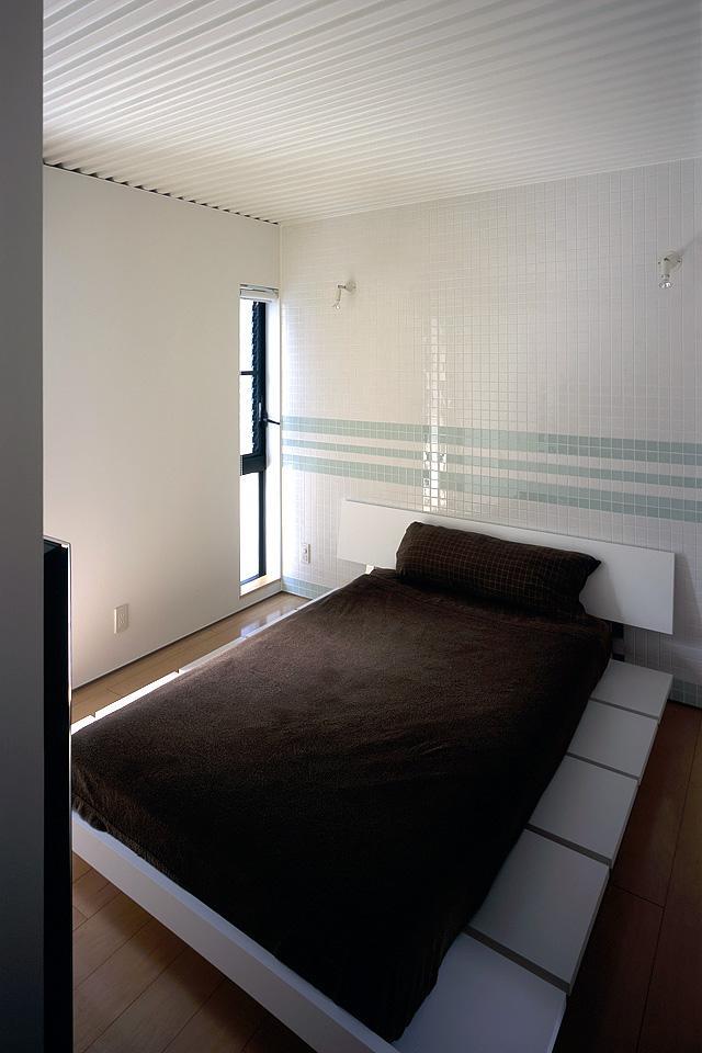 貝塚市 T様邸の部屋 ベッドルームにタイルを