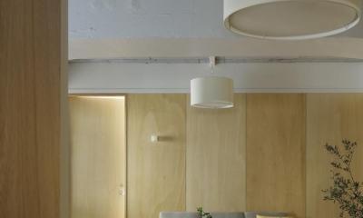 大塚のサービスアパートメント  Ⅱ (リビング)
