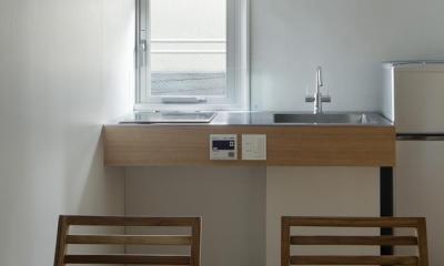 大塚のサービスアパートメント  Ⅱ (キッチン)