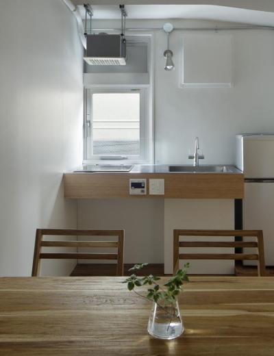 キッチン (大塚のサービスアパートメント  Ⅱ)