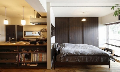 ベッドルーム|スムーズなプランのやりとりで 超快適なシングル仕様に