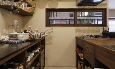 スムーズなプランのやりとりで 超快適なシングル仕様に (キッチン)