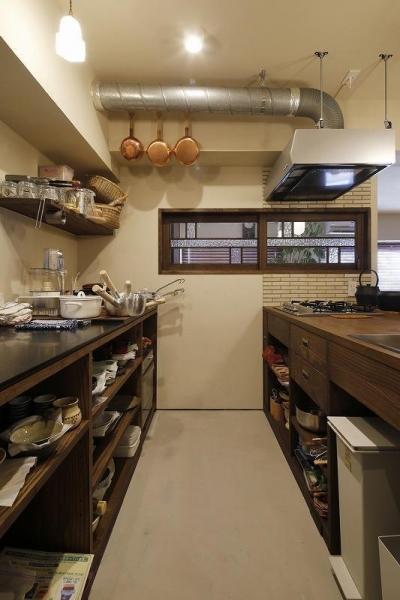 キッチン (スムーズなプランのやりとりで 超快適なシングル仕様に)