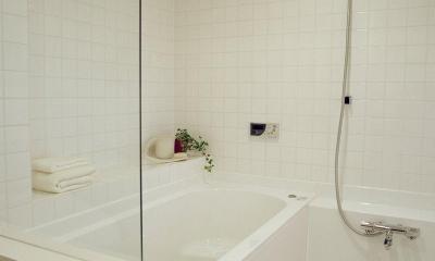 お風呂をデザインする (ハーフユニットのお風呂)