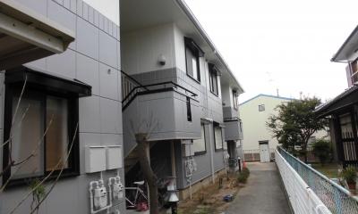 マンション 外壁塗装工事 (外壁)