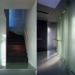 T邸:名古屋丘の上 (エントランスホール)