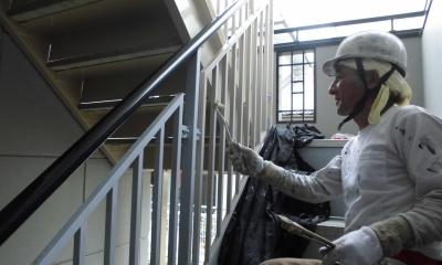 マンション 外壁塗装工事