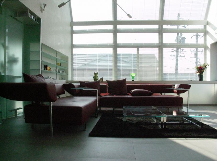 T邸:名古屋丘の上の写真 リビングルーム