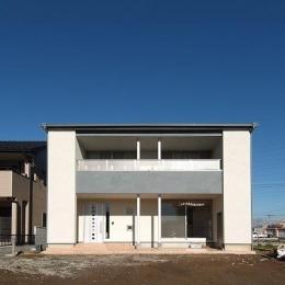 伊勢崎の家 (シンプルな外観)