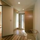 伊勢崎の家の写真 光が差し込む玄関