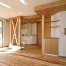 伊勢崎の家の写真 広々としたリビング