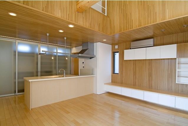 鴻巣の家の写真 シンプルなダイニングキッチン