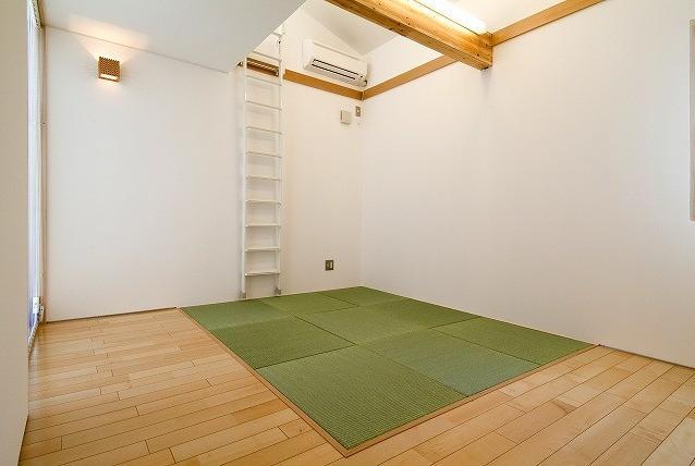 鴻巣の家の写真 落ち着きのある畳コーナー