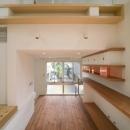スキップの家 / 愛犬家住宅の写真 壁にあるシンプルな棚