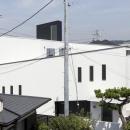 スロープの家 / 愛犬家住宅の写真 スロープの構成を表現した外観