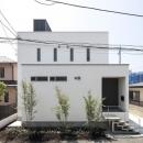 スロープの家 / 愛犬家住宅の写真 玄関側外観