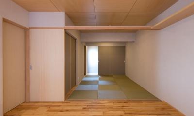 宮崎町の家(リノベーション) (畳の間)