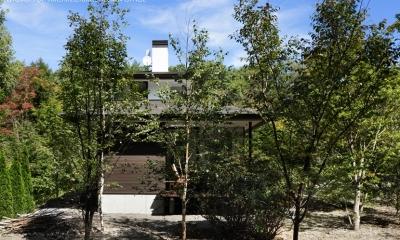 024軽井沢Hさんの家 (外観)