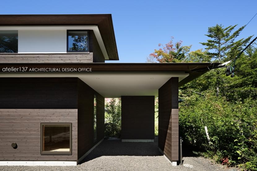 024軽井沢Hさんの家 (外観 / 駐車場)