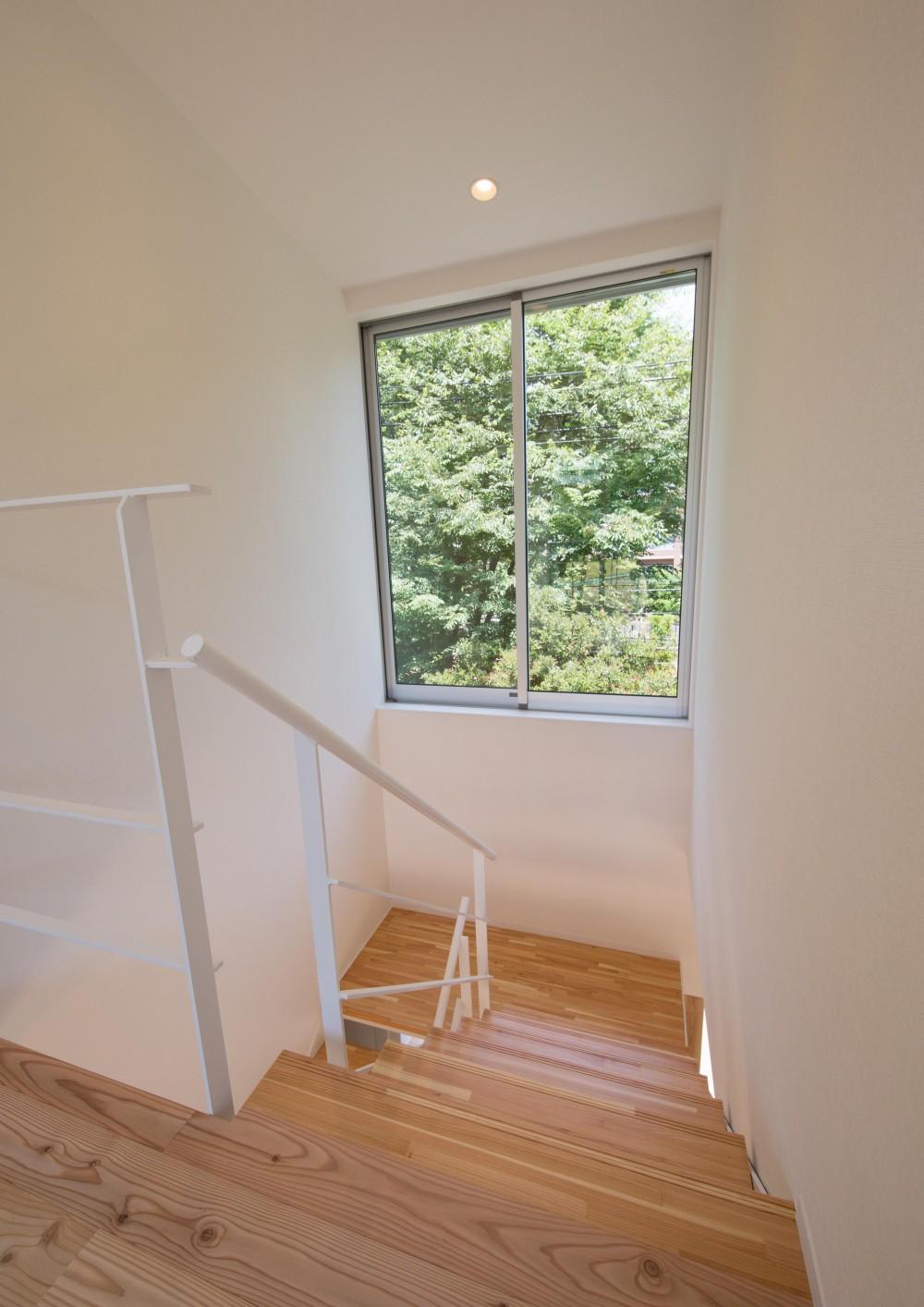 小仲台の家 (階段)