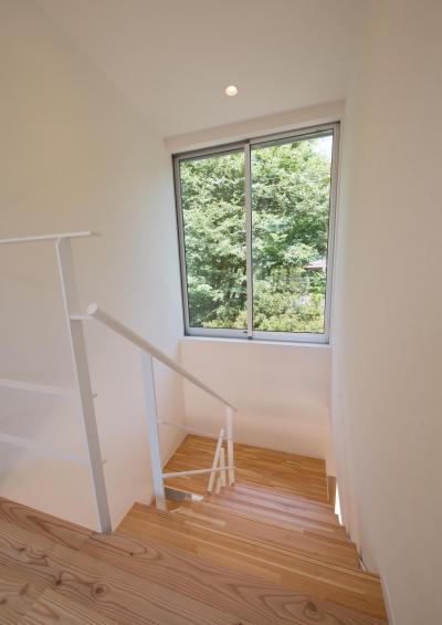 階段 (小仲台の家)