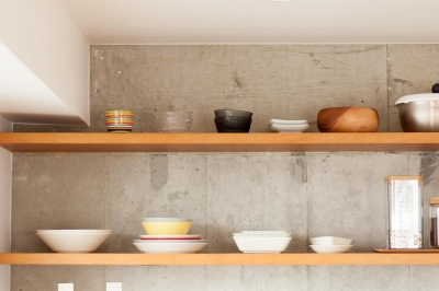 菜園もインテリアも—「育てる」を楽しむ家づくり (キッチン)