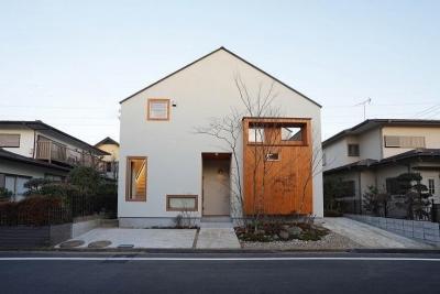 外観 (両世帯の要望も叶えつつ、見事に調和をさせた完全二世帯住宅【3000万円】)