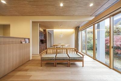 親世帯のLDK (両世帯の要望も叶えつつ、見事に調和をさせた完全二世帯住宅【3000万円】)
