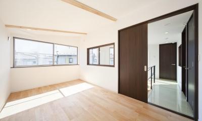 変形地を最大限に生かした家【1700万円】