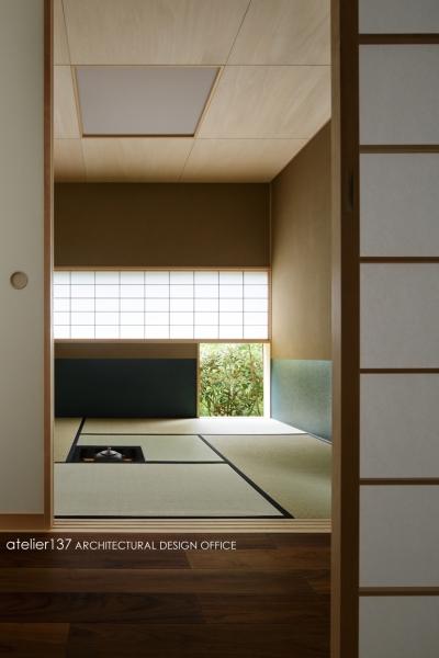 お茶室 (024軽井沢Hさんの家)