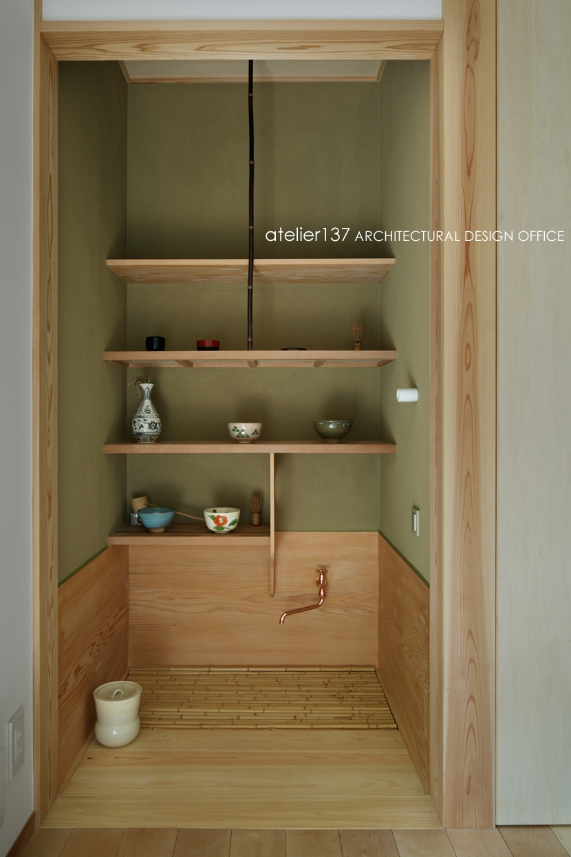 024軽井沢Hさんの家の写真 水屋