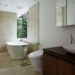 024軽井沢Hさんの家 (浴室 / 洗面脱衣室)