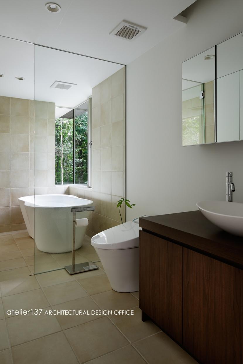 024軽井沢Hさんの家の写真 浴室 / 洗面脱衣室