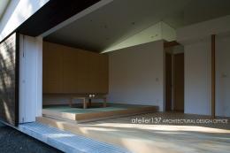 012軽井沢Nさんの家 (リビング / ダイニング)