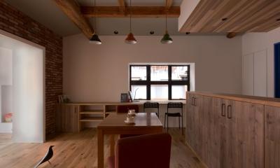 9平米の増築と外構でつながる広がりのある家(城東の家リノベーション)