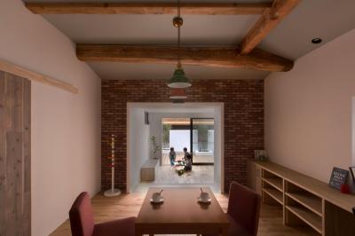 キッチン (9平米の増築と外構でつながる広がりのある家(城東の家リノベーション))