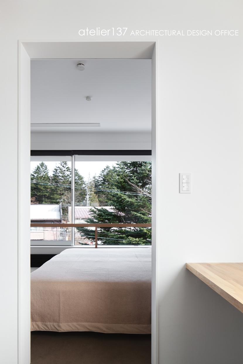 019軽井沢Mさんの家の部屋 寝室
