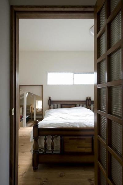 寝室 (都会の中でナチュラルに暮らす為の家)