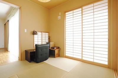 親世帯の部屋 (ゆったりと暮らす二世帯住宅【3000万円】)
