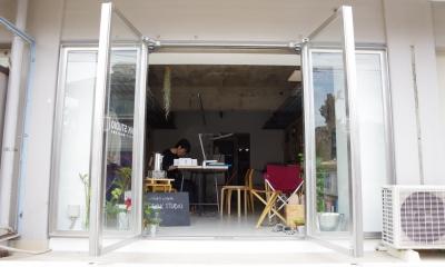 川崎のオフィス (エントランス)