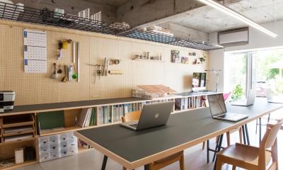 川崎のオフィス (打合せスペース)
