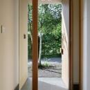 031軽井沢Tさんの家の写真 玄関