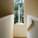 031軽井沢Tさんの家の写真 階段