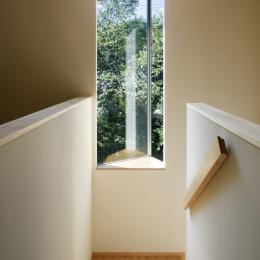 031軽井沢Tさんの家 (階段)